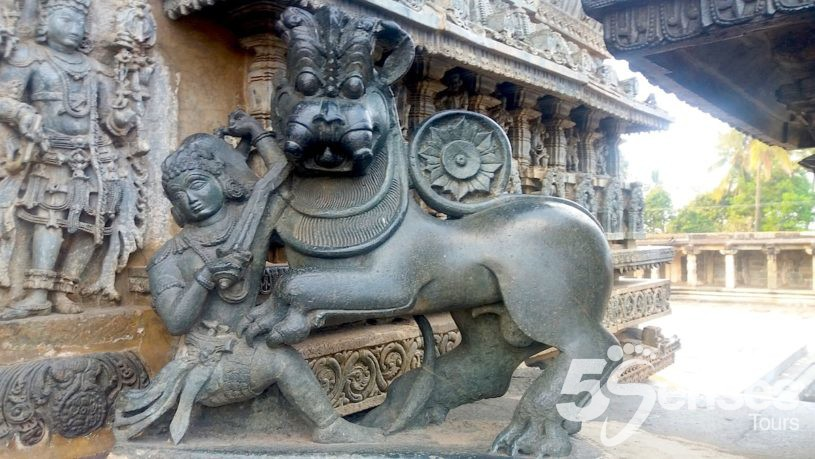 Belur, Experiential Tours in India organized by 5 Senses Tours