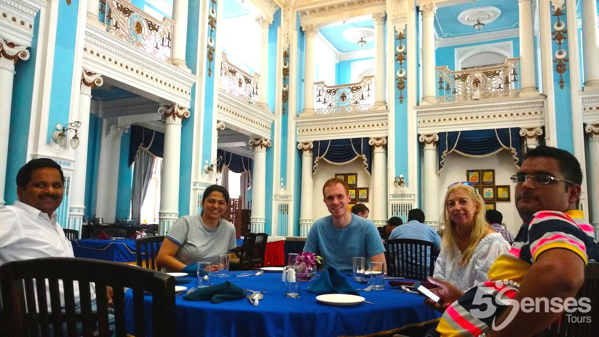 Lunch at Palace in Mysore during Palace Tour from Bangalore
