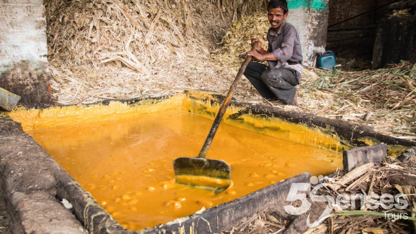 Jaggery making, day trip from Bangalore