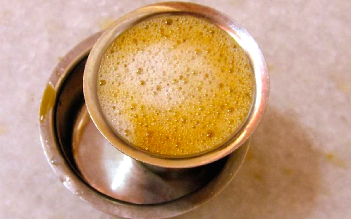 how to make indian filter coffee