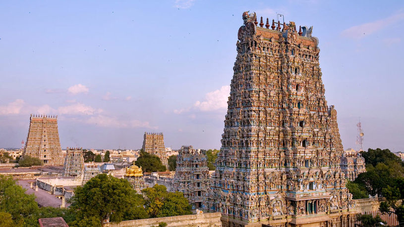 Meenakshi temple Madurai tour