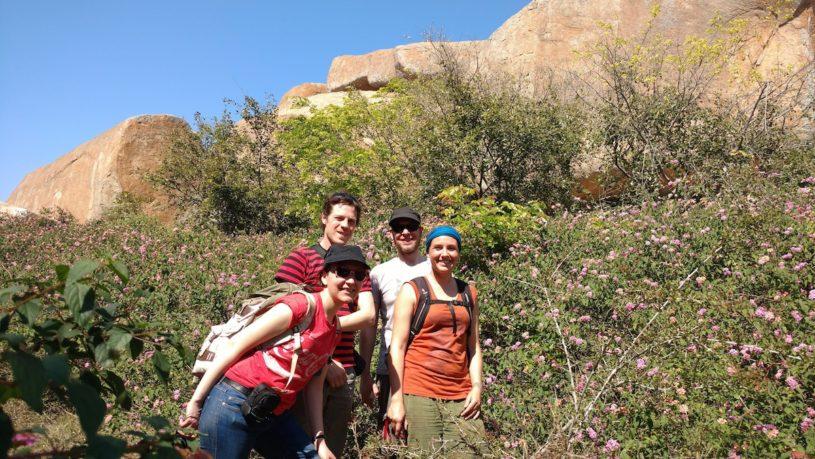 Bouldering and safari tour in Kolar
