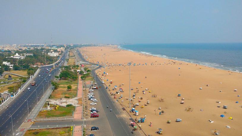 Marina Beach, Chennai walking tour