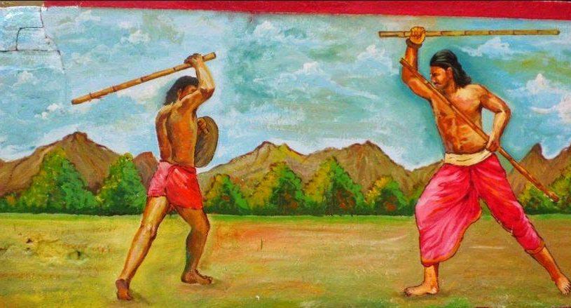 Silambam, martial art