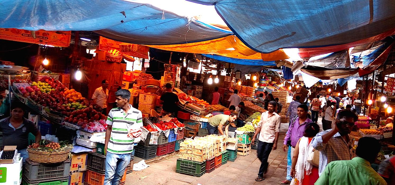 Crawford market, Mumbai shopping tour