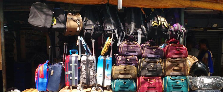 Leather market, Shopping tour chennai