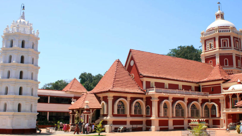 Goan temple architecture tour