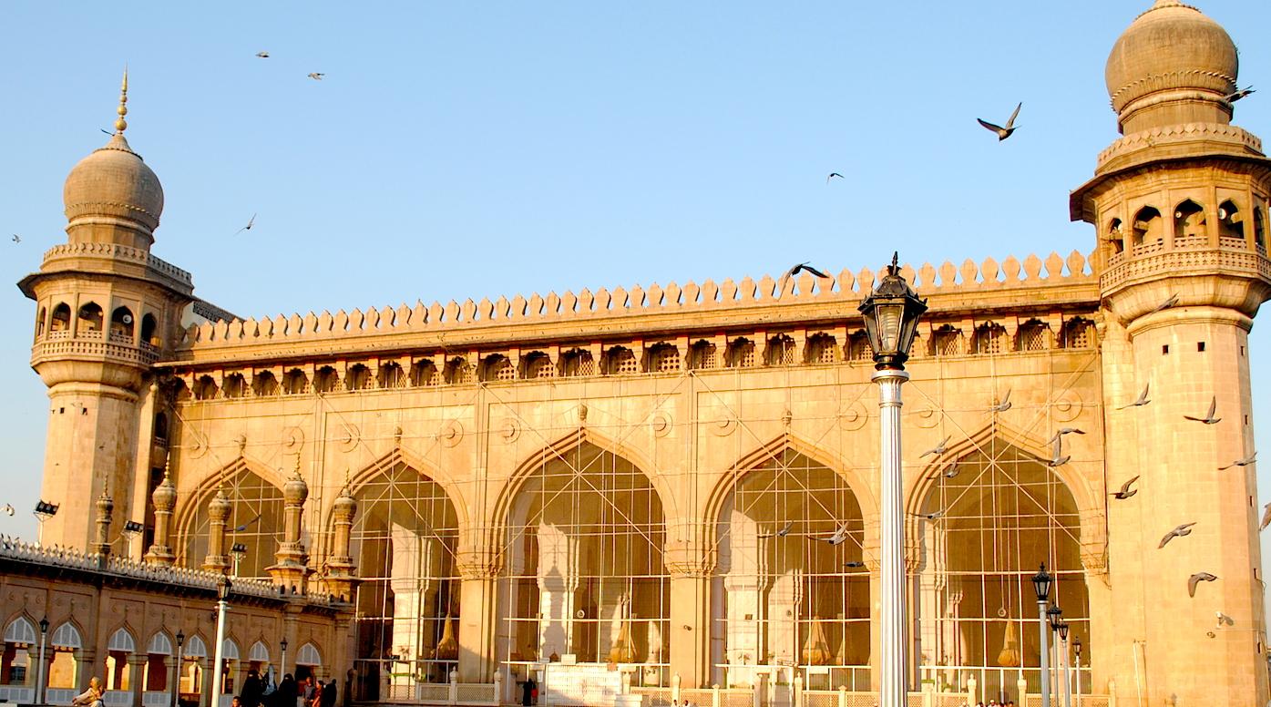 Old city walk in Hyderabad
