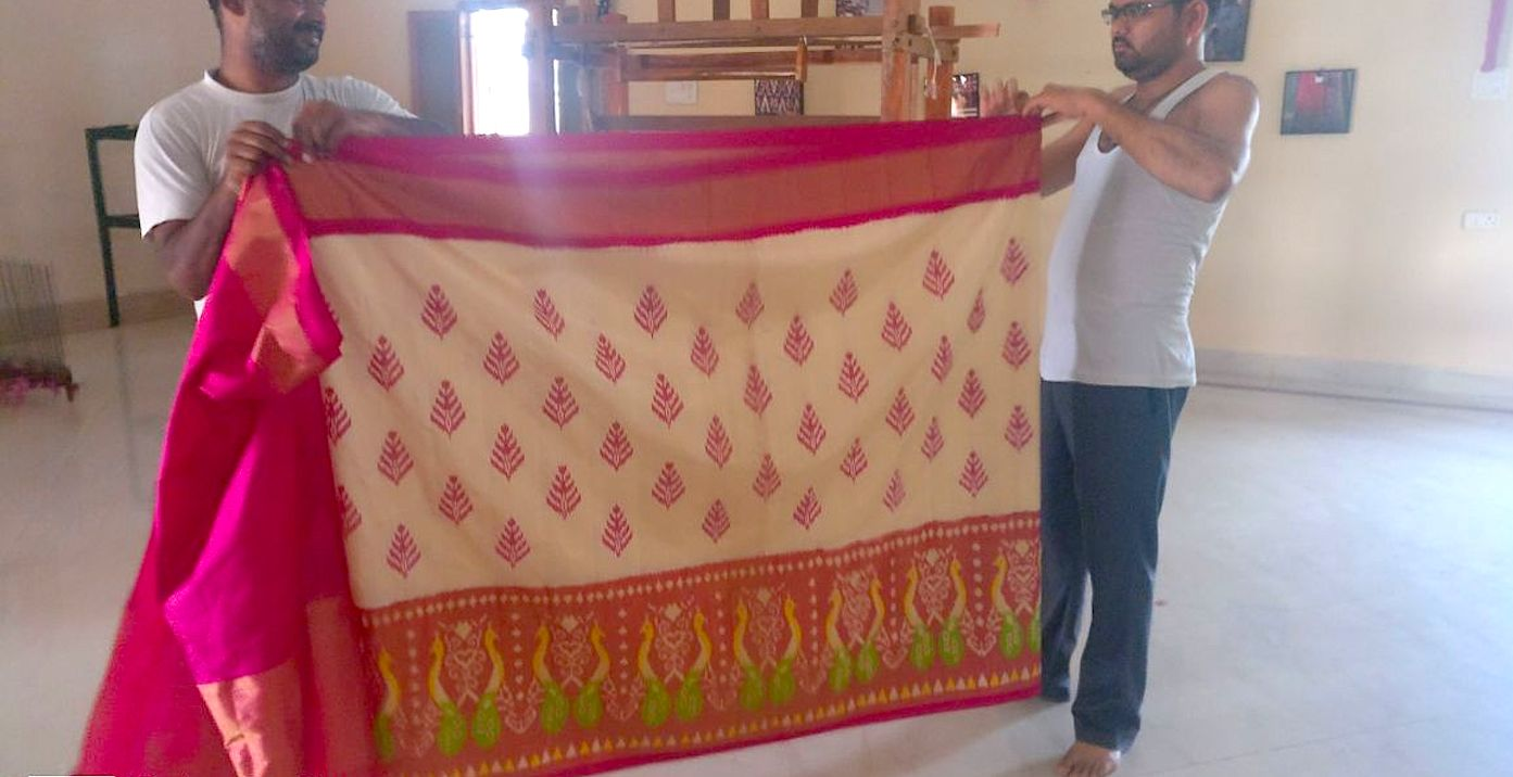 Saree weavers of Pochampally